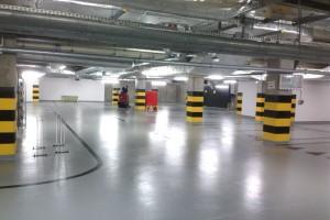 Czyszczenie orurowania i kanałów wentylacji oraz posadzki w garażu podziemnym