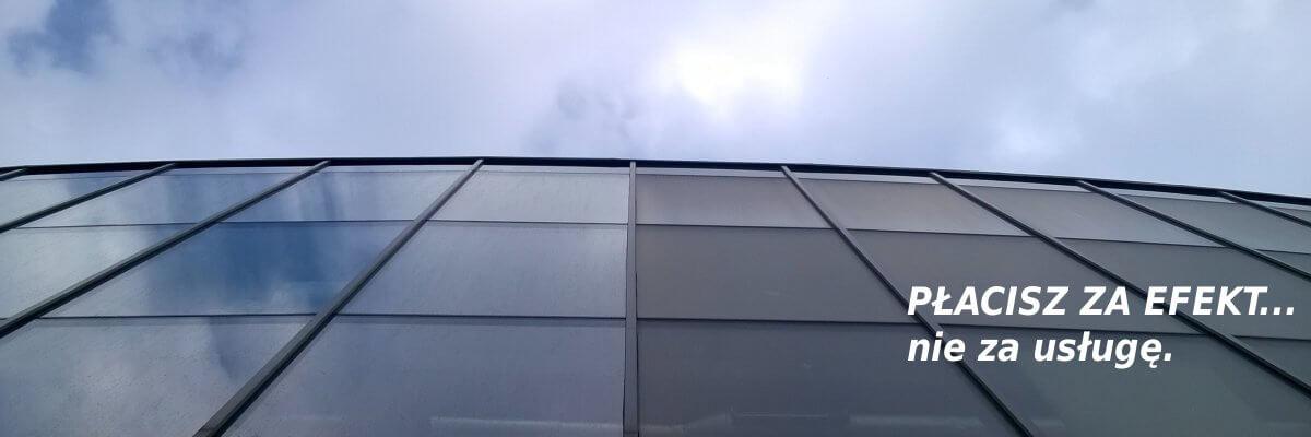 Mycie elewacji szklanych legnica