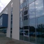 Mycie szyb budynku biurowego, Opole