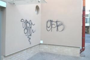 Usuwanie graffiti z elewacji: piaskowca, cegły, granitu, tynków